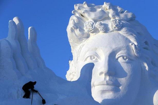 Serenity-Most Amazing Snow Sculptures