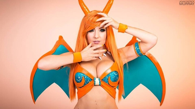 Charizard-24 Best Jessica Nigri Cosplays Ever