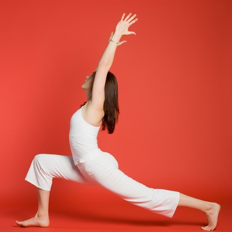 Warrior I-Simple Yoga Positions For Everyone