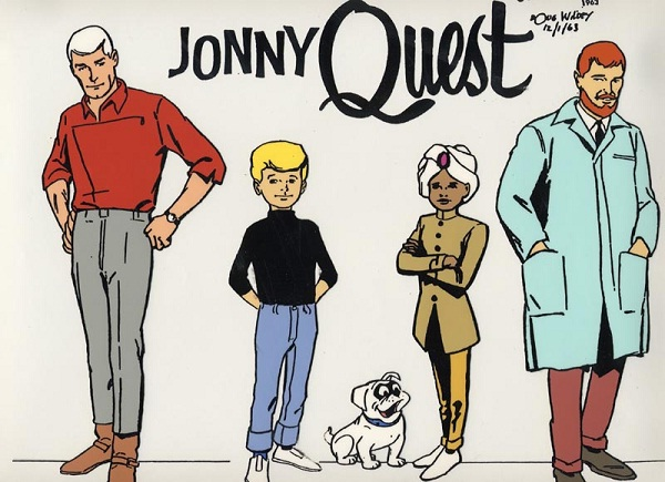Jonny Quest-12 Most Racist TV Shows Ever Made
