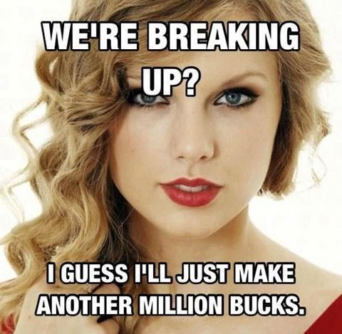 It's Probably More Than $1 Million-Best Taylor Swift Memes