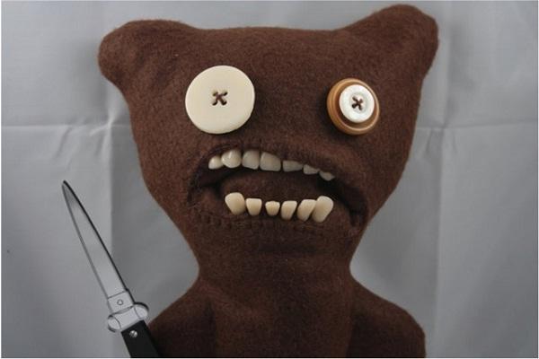 Gnashing Teddy-Creepiest Toys