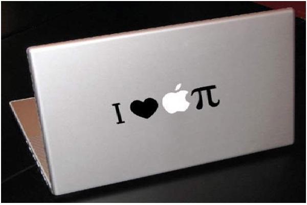 Apple Pie-Funny MacBook Stickers