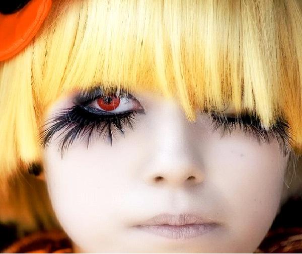 Eye Feathers-Crazy Eye Make Up