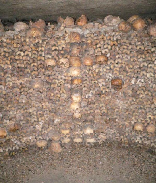 The Catacombs Of Paris - Paris, France-Unusual And Unbelievable Underground Places