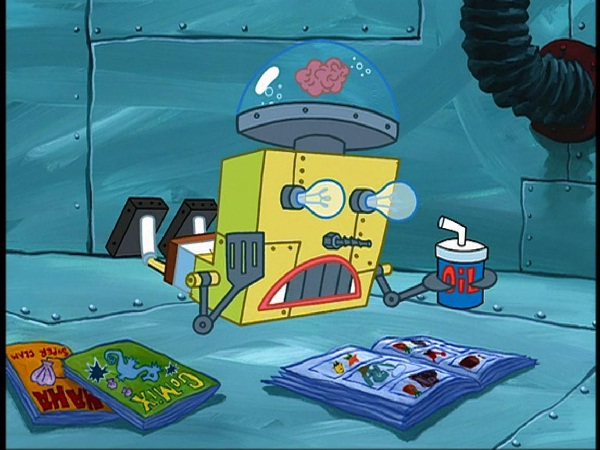 Robots-Things We Learned From Spongebob Squarepants