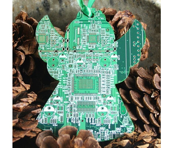 Motherboard angel-Geeky Christmas Decorations