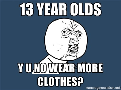The eternal question-Teenage Girls Be Like..