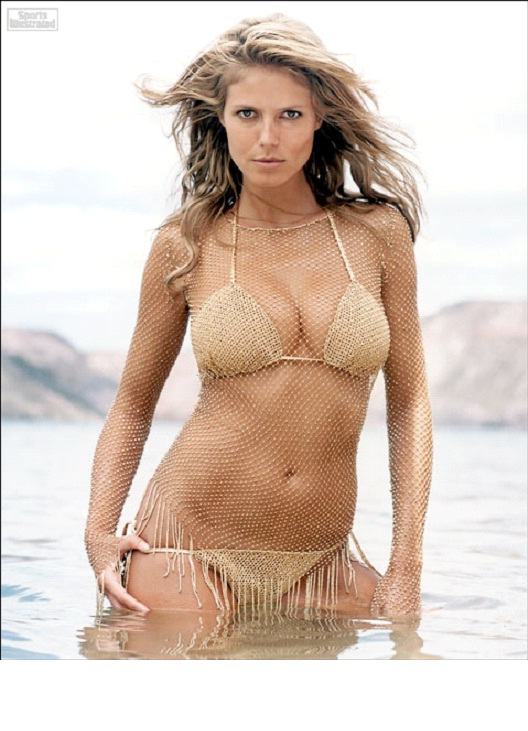 Heidi Klum-12 Hottest Bikini Pictures Of Popular Celebrities