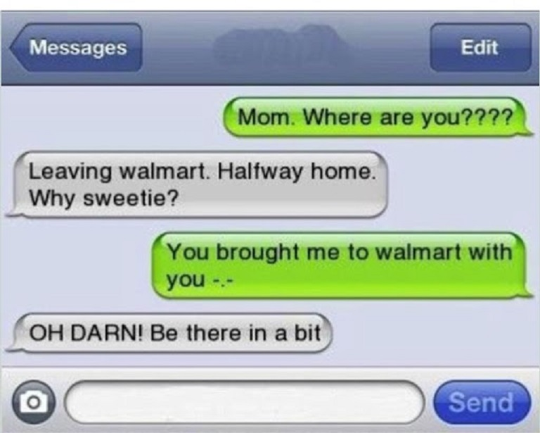 This Mom Who Keeps Forgetting Things-15 Most Awkward Texts From Mom