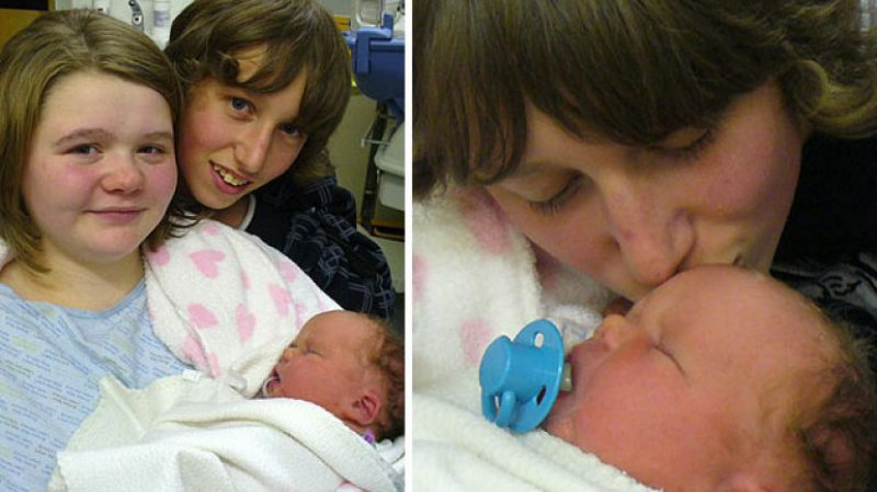 April Webster And Nathan Fishbourne, England -9 Youngest Parents Ever