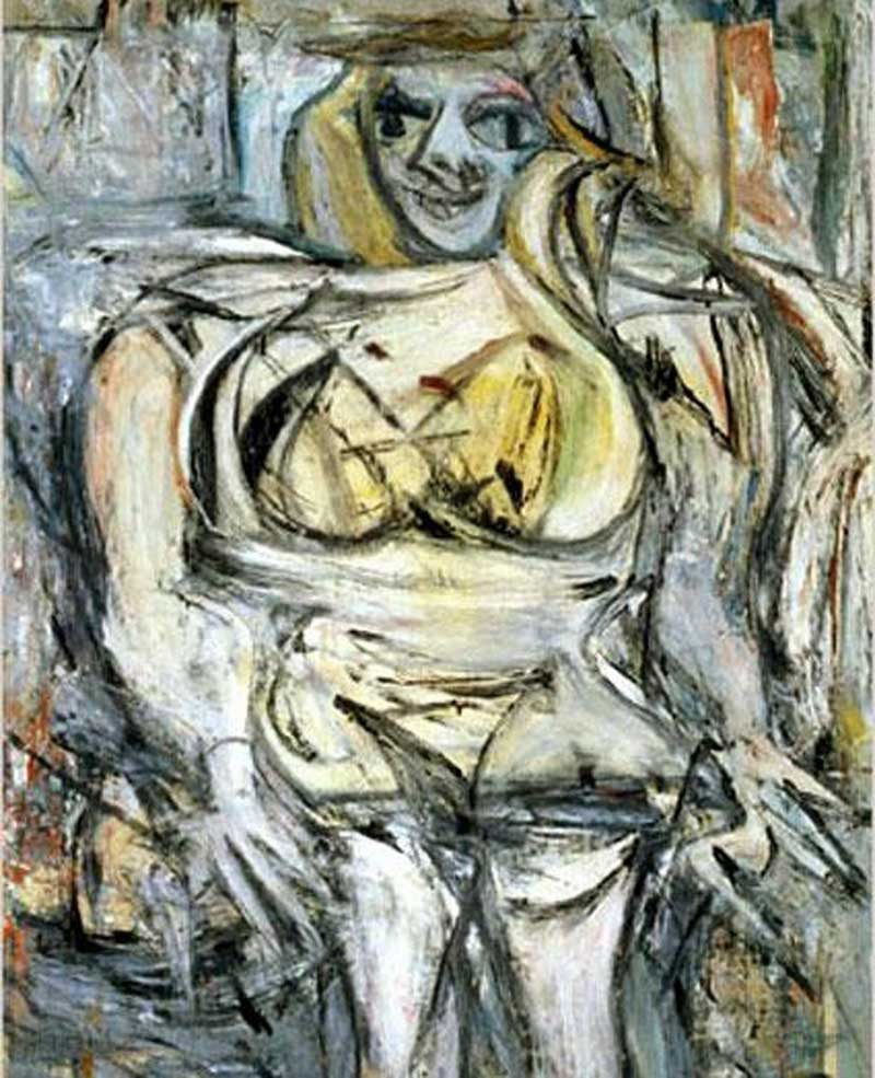 Women III, 1953 by Willem de Kooning (145.4 Million)-15 Ridiculous Paintings Sold For Millions Of Dollars