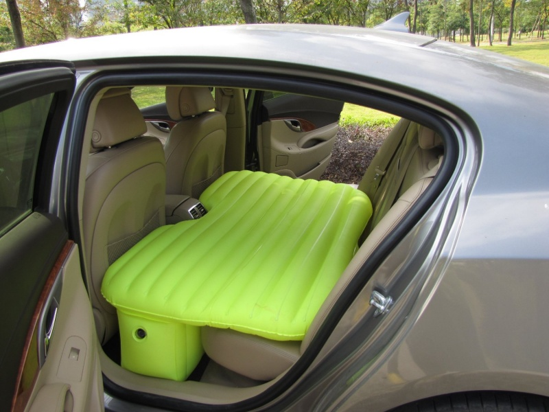 Try this Inflatable Car Back Seat Bed Next Time-Travel Hacks To Simplify Your Trips