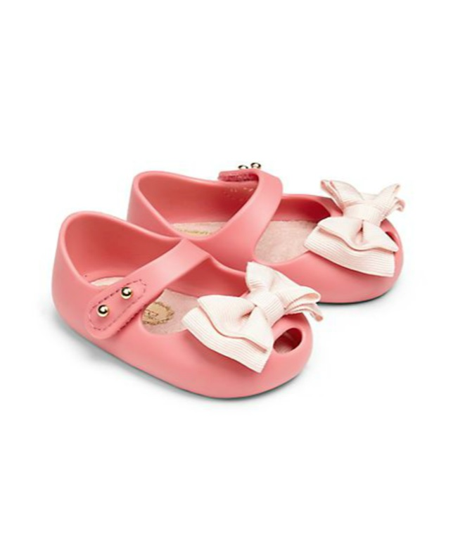 Mini Melissa Scented Rubber Peep-Toe Shoes $55-Best Newborn Girl Gifts 2015