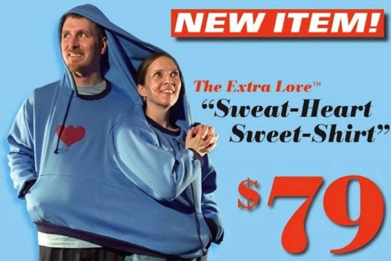 Terrible Gift Unless You are an Overly Attached Couple-15 Disgusting Valentine's Day Gifts Ever