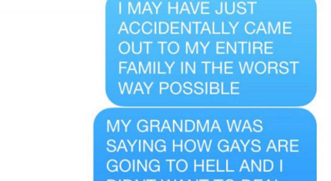 15 Hilarious Coming Out Stories That Didn't Go As Expected