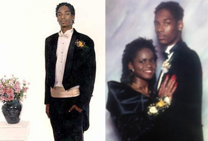 Snoop Dogg Prom Date Photo-15 Rare Unseen Celebrity Prom Photos