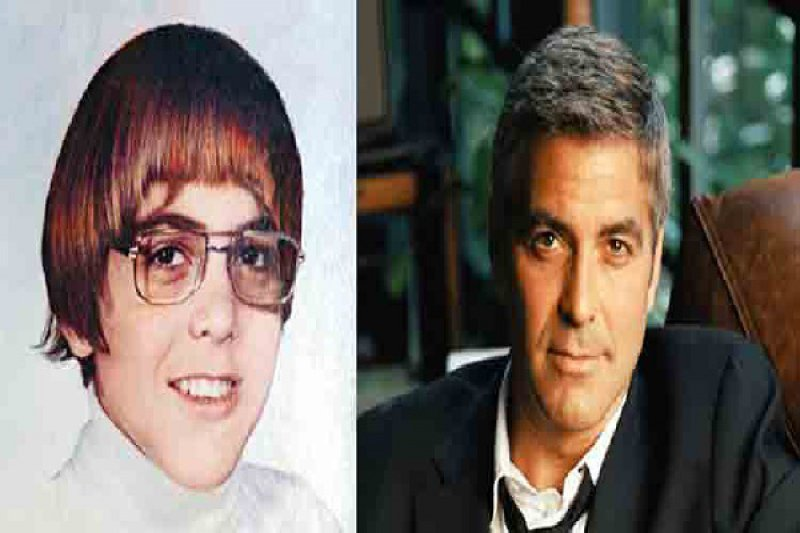 George Clooney-12 Celebrities Who Looked Ugly When They Were Kids