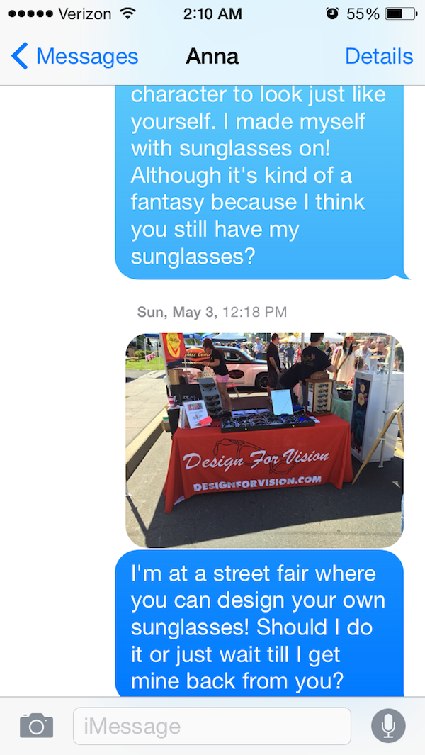 This Text Will Make You Rofl-Guy Whose Sunglasses Got Stolen After A One Nightstand Texts The Girl For A Year.