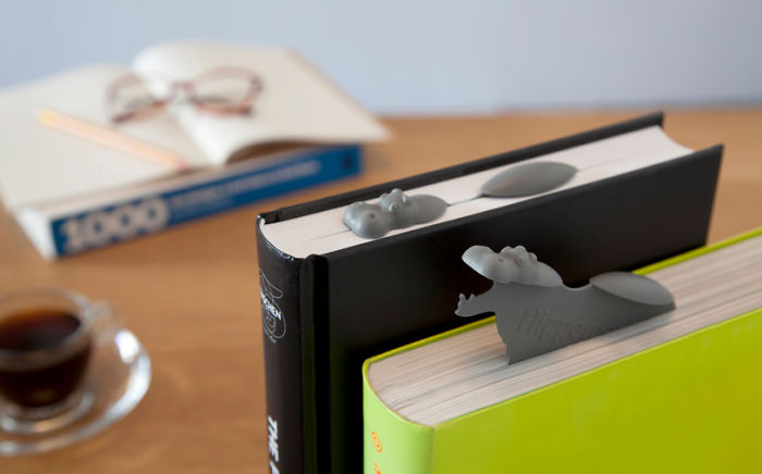 Hippo Bookmark-15 Bookmarks You Must Have If You Are A Bookworm