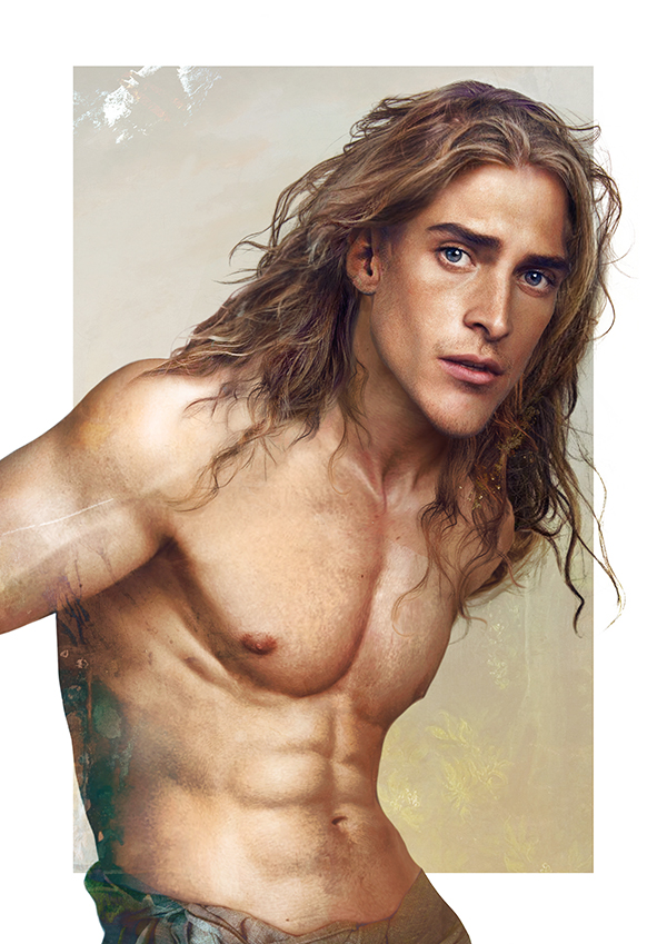 Tarzan-15 Real Life Illustrations Of Disney Characters