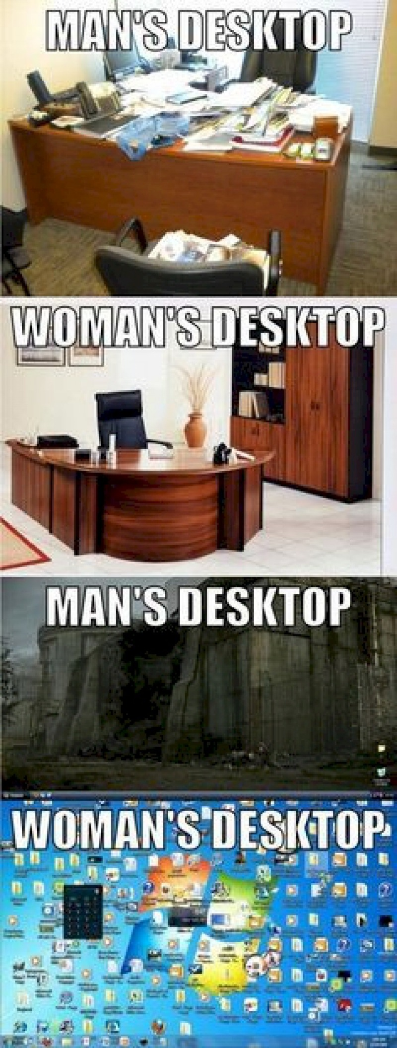 The Striking Difference-15 Hilarious Differences Between Men And Women