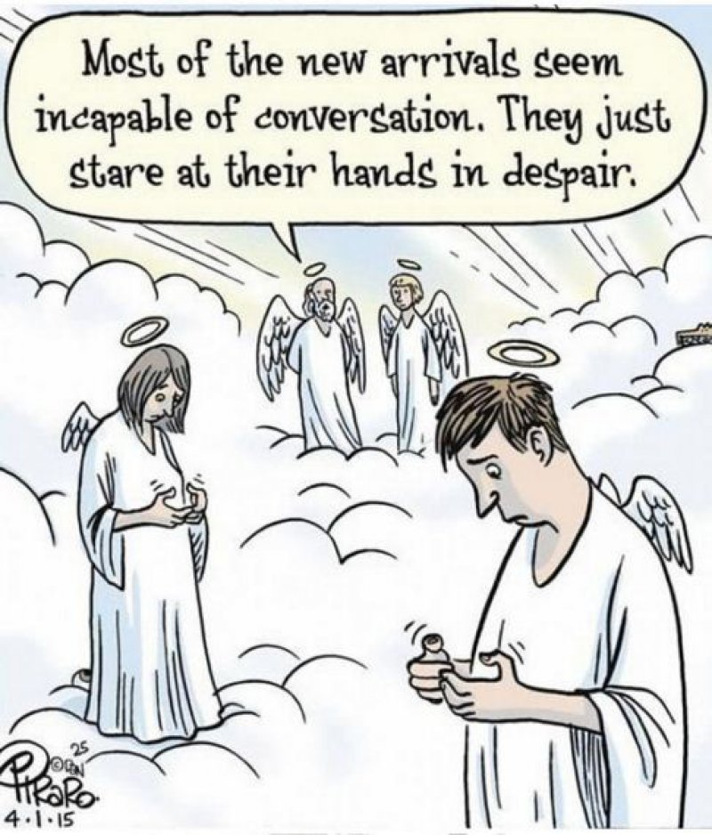 Smartphones Create Communication Problems-15 Comics That Show How Smartphones Have Ruined Our Lives