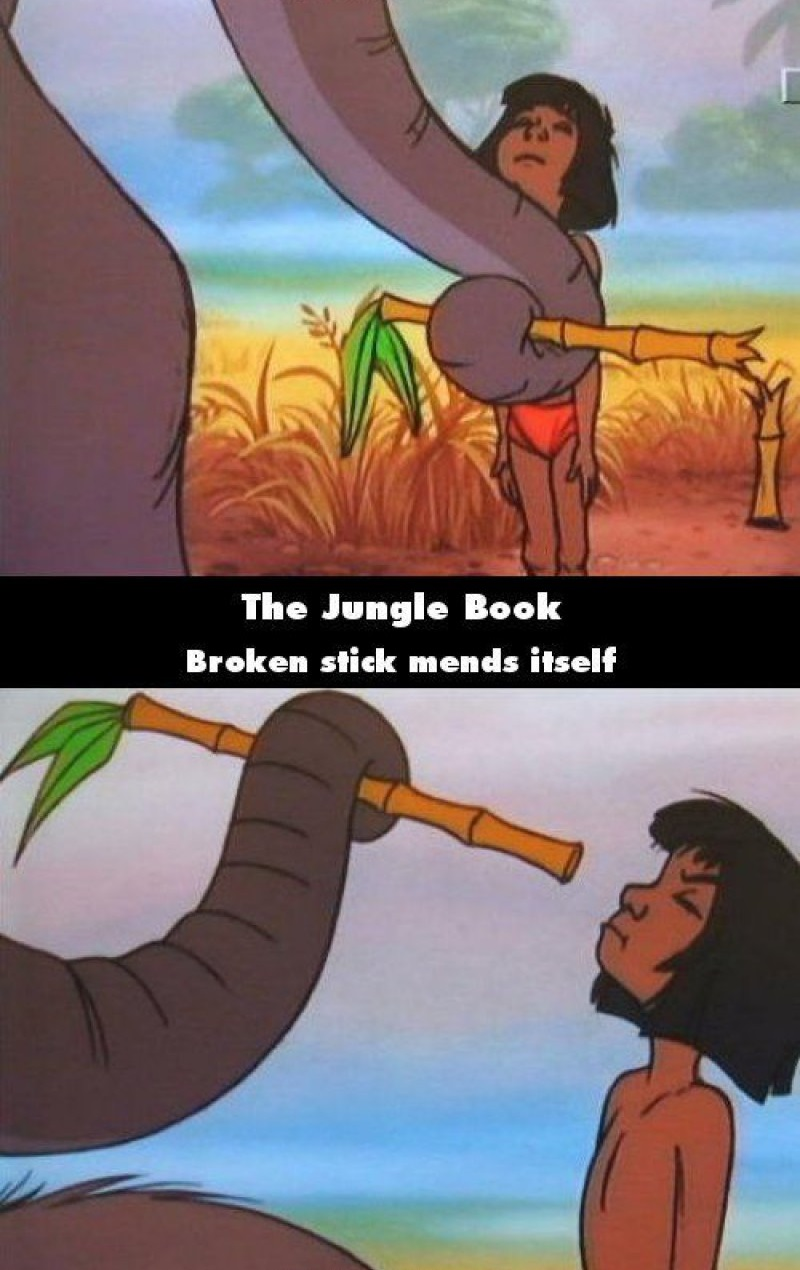 The Jungle Book-15 Disney Movie Mistakes You Probably Never Noticed