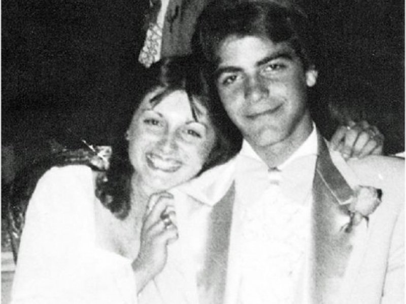 George Clooney With His Prom Date-15 Rare Unseen Celebrity Prom Photos