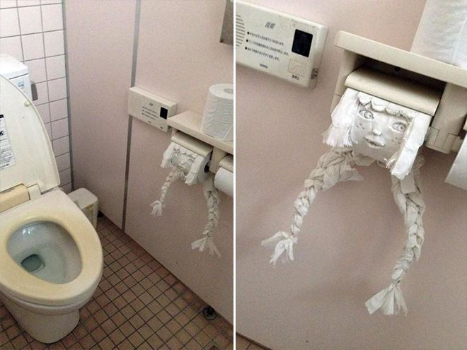 Creepy, Just Creepy-15 Hilarious Toilet Graffiti Images Ever