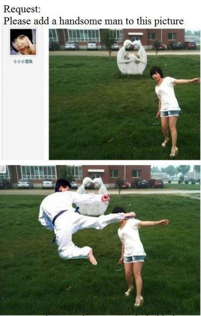 This Girl Who Got Trolled -15 Hilarious Photoshop Fixes Ever
