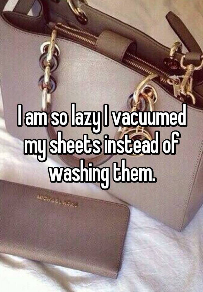 Vacuum Your Sheets If You are too Lazy to Wash Them-15 Ridiculous Life Hacks For All The Lazy People Out There