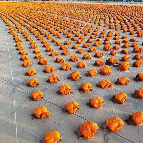 These Buddhist Monks-15 Photos That Show The Order In The World