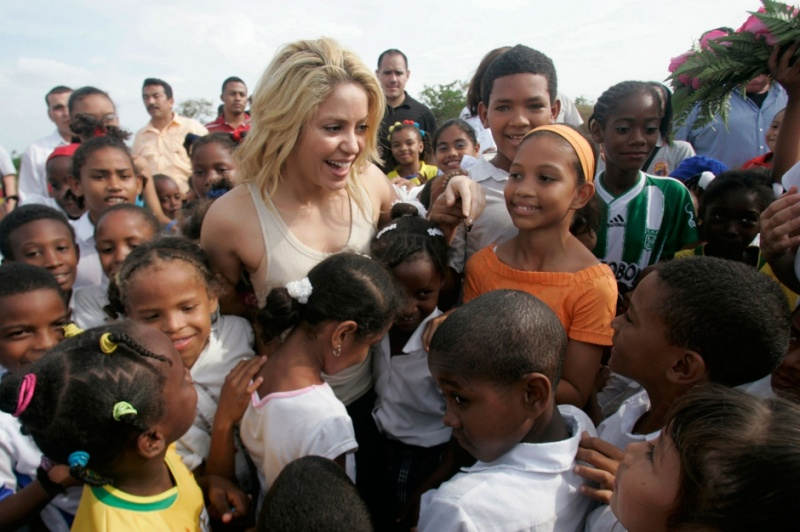 She Is Into Charity -15 Things You Don't Know About Shakira