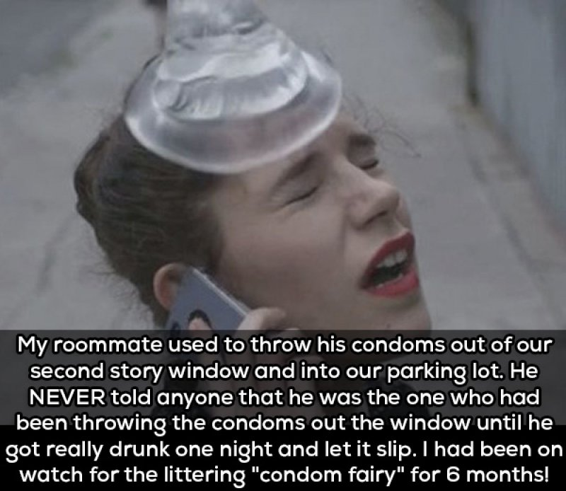 That One Guy Who Keeps Breaking Rules-15 People Confess The Craziest Things They Saw Their Roommate Doing