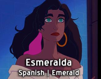 Esmeralda-15 Disney Princesses Names And Their Meanings In Different Languages