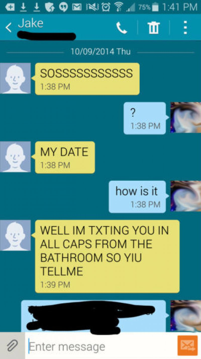 THIS DATE THAT HAS GONE WRONG-15 Desperate Dating Texts That Are Sure To Make You Laugh