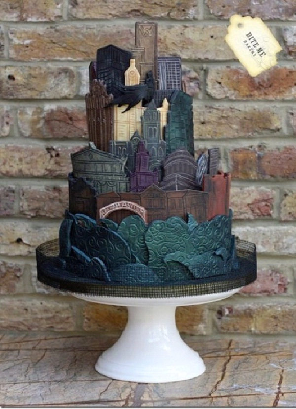 Gotham City-Most Geeky Cakes