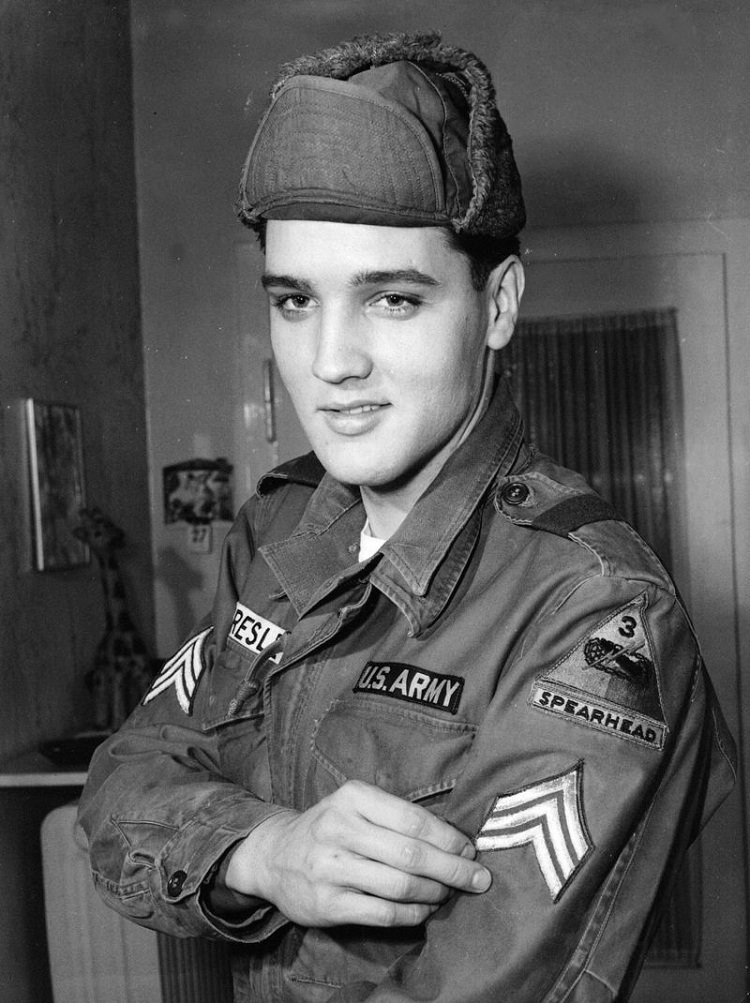 Elvis-Musicians Who Were Once In The Military