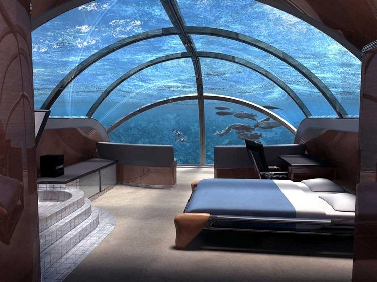 Undersea Lodge, Key Fargo-Most Amazing Hotels Around The World