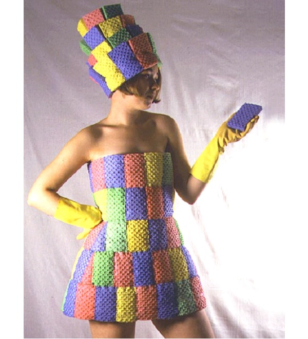 Sponge Dress-Weirdest Dresses