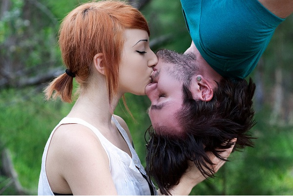 Upside down-Different Kisses And Their Meanings