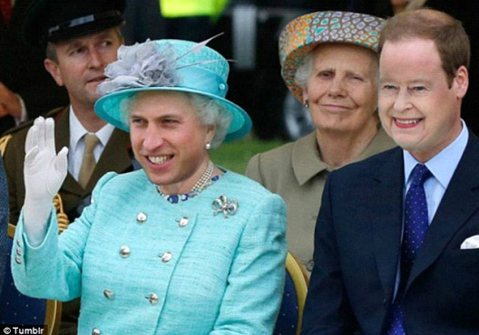 The Queen Prince-Face Swapping Done Right