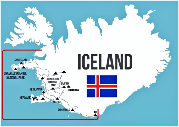 Iceland-Countries Without McDonald's