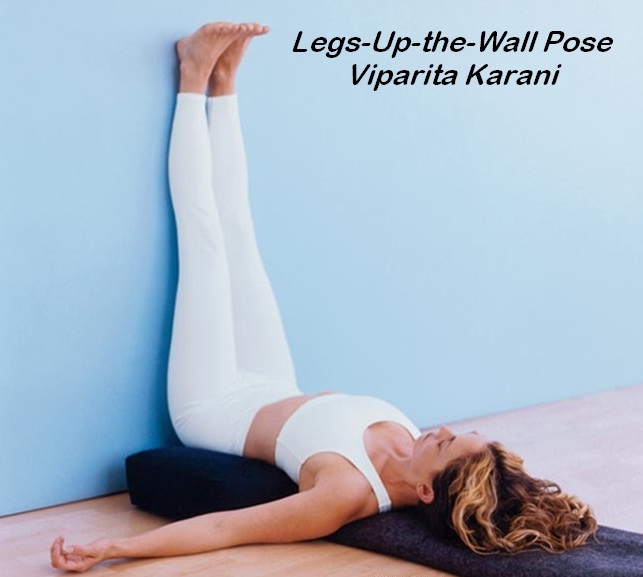 Legs up the wall-Simple Yoga Positions To Relieve Stress