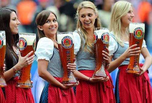 "What a whopper-Best ""Girls With Beer"" Photos"