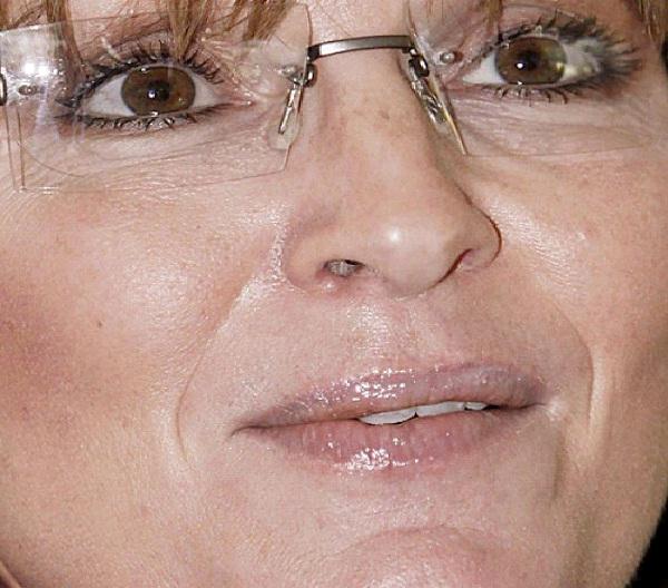 Sarah Palin-Weird Celebrity Closeups