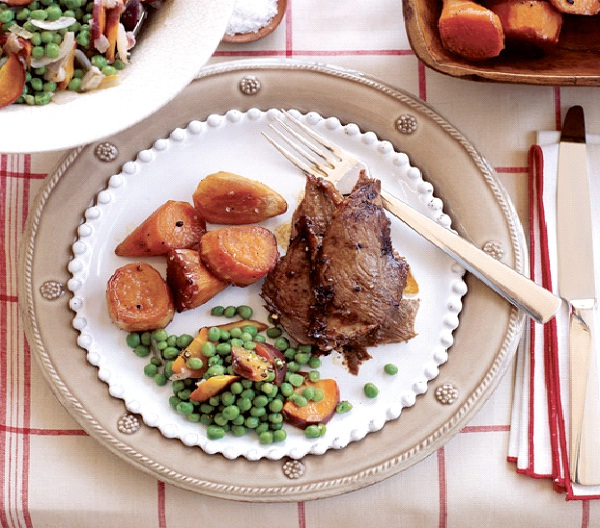 Roasted Gray Goose with Crispy Skin-Christmas Recipes