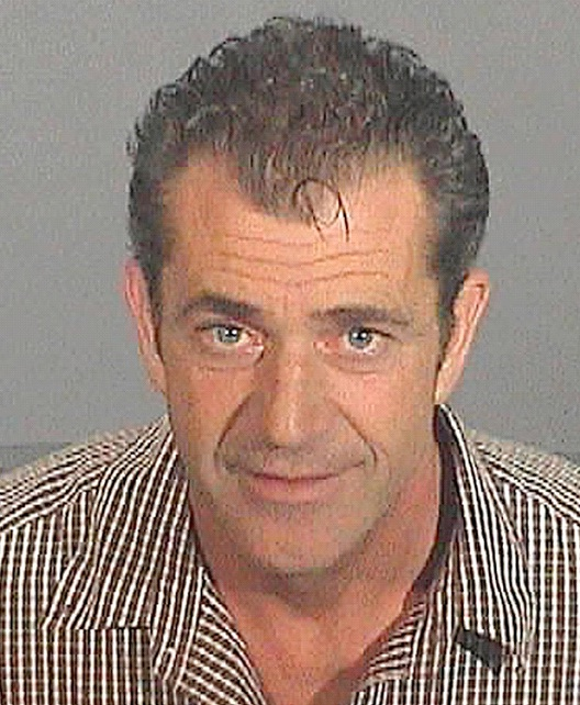Mel Gibson-Top Celebrity Mug Shots