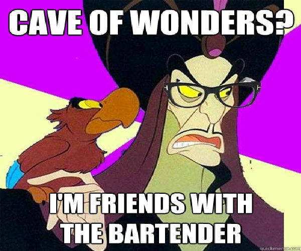 Evil glasses-Disney Characters As Hipsters